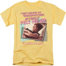 SIXTEEN CANDLES GRANDMOTHER - S/S ADULT 18/1 - BANANA T-Shirt