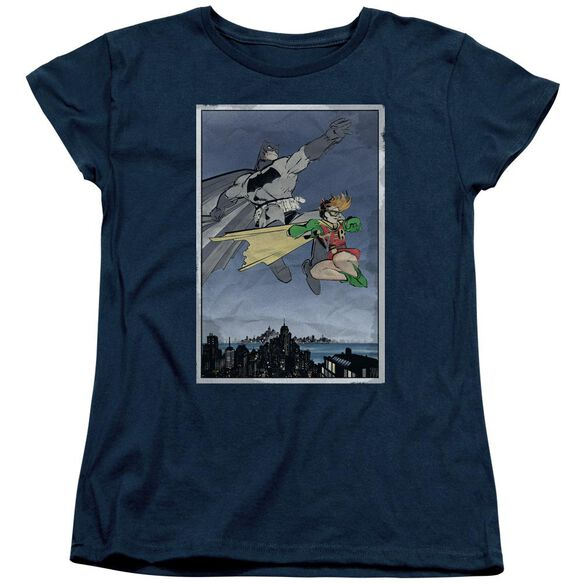 Batman Dkr Duo Short Sleeve Womens Tee T-Shirt