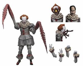 NECA IT 2017 Movie Pennywise Action Figure [Dancing Clown, Ultimate Version]