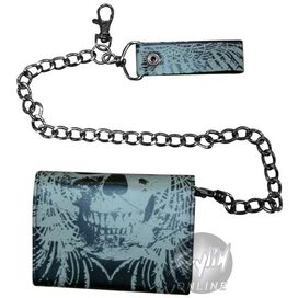 As I Lay Dying Skull Wallet