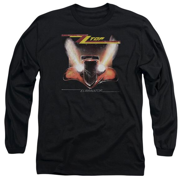 Zz Top Eliminator Cover Long Sleeve Adult T-Shirt