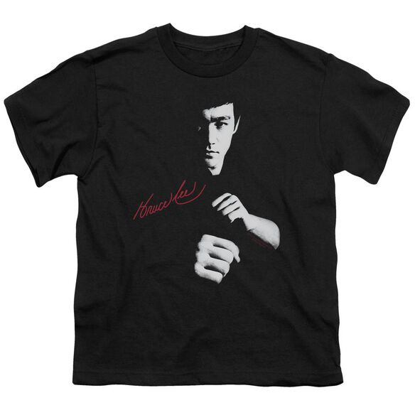 Bruce Lee The Dragon Awaits Short Sleeve Youth T-Shirt