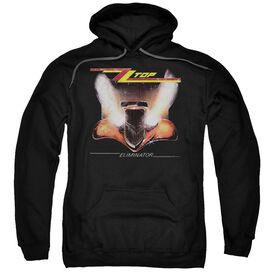 Zz Top Eliminator Cover Adult Pull Over Hoodie