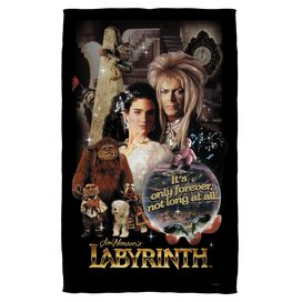 Labyrinth Only Forever Beach Towel
