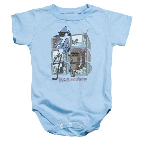 Regular Show Tv Too Cool Infant Snapsuit Light Blue