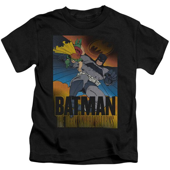 BATMAN DK RETURNS - S/S JUVENILE 18/1 - BLACK - T-Shirt