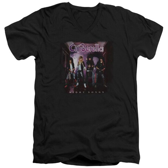 Cinderella Night Songs Short Sleeve Adult V Neck T-Shirt