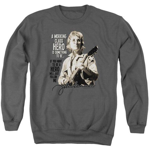 John Lennon Just Follow Me Adult Crewneck Sweatshirt