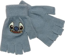 Lilo and Stitch Face Fingerless Gloves