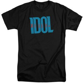 Billy Idol Logo Short Sleeve Adult Tall T-Shirt