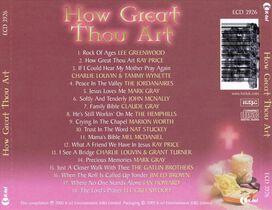 Various Artists - How Great Thou Art [K-Tel]