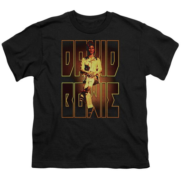 David Bowie Perched Short Sleeve Youth T-Shirt