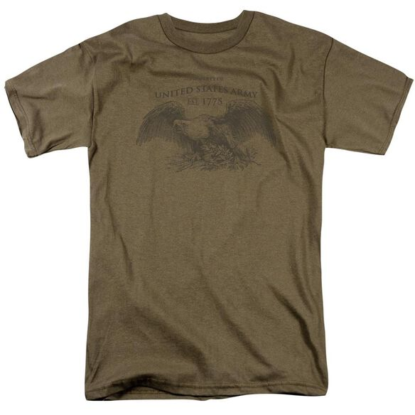 Army Property Of Short Sleeve Adult Safari Green T-Shirt