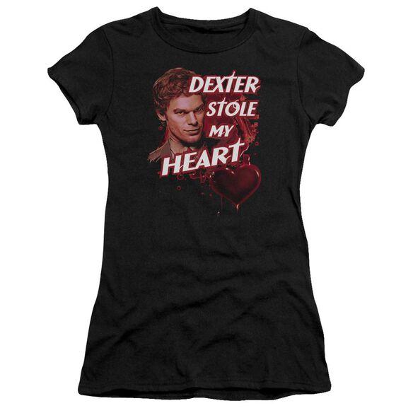 Dexter Bloody Heart Premium Bella Junior Sheer Jersey