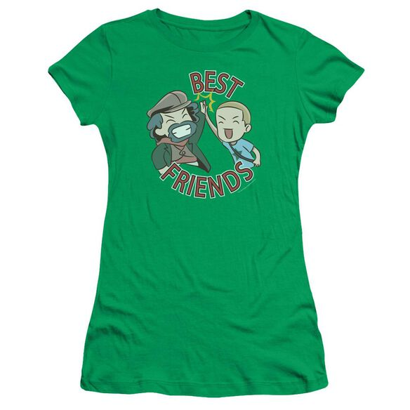 Valiantbest Friends Emoji Short Sleeve Junior Sheer Kelly T-Shirt