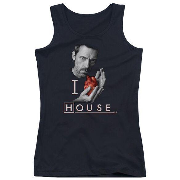 House I Heart House Juniors Tank Top