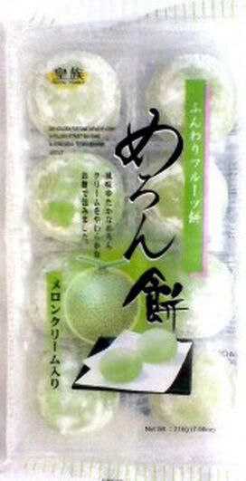 Royal Family Daifuku Melon Mochi [7.6 oz]