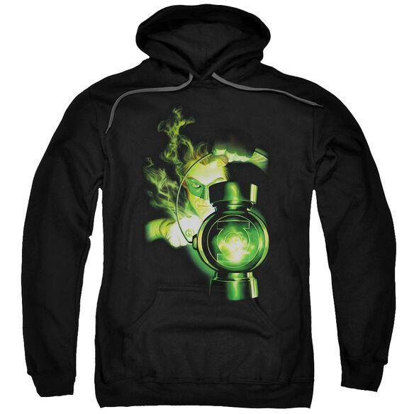 Green Lantern Lantern Light Adult Pull Over Hoodie