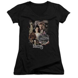 Labyrinth 25 Years Of Magic Junior V Neck T-Shirt