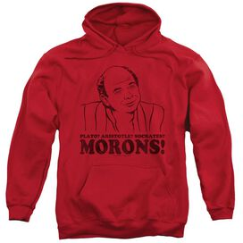 Princess Bride Morons Adult Pull Over Hoodie