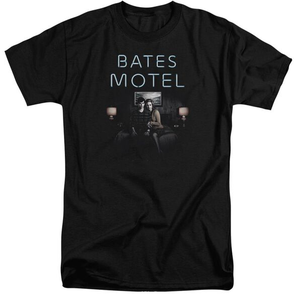 Bates Motel Motel Room Short Sleeve Adult Tall T-Shirt