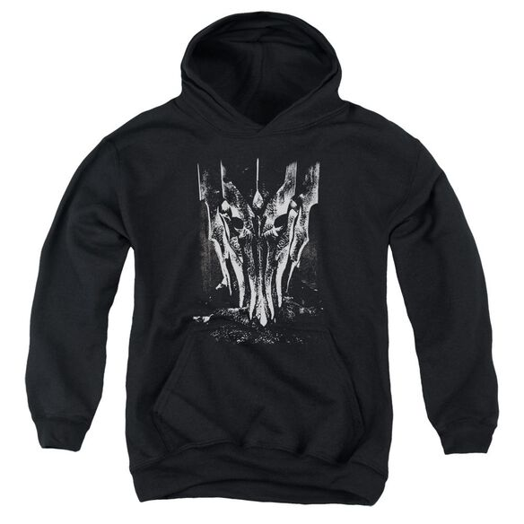 Lor Big Sauron Head Youth Pull Over Hoodie