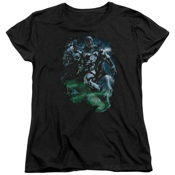 Green Lantern Lantern Batman Short Sleeve Womens Tee T-Shirt