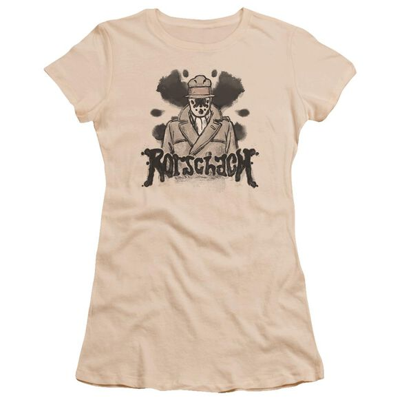 Watchmen Ink Blot Premium Bella Junior Sheer Jersey