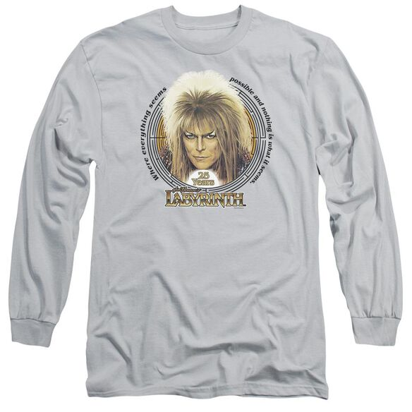 Labyrinth 25 Years Long Sleeve Adult T-Shirt