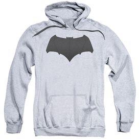 Batman V Superman Batman Logo Adult Pull Over Hoodie Athletic