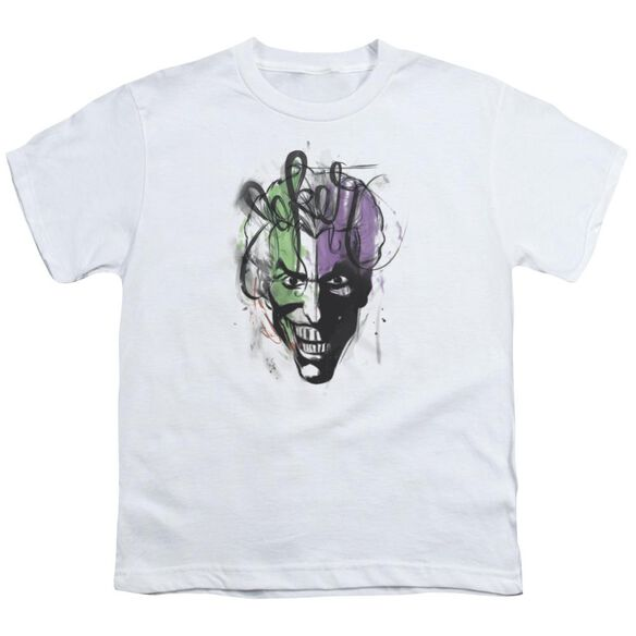 Batman Joker Airbrush Short Sleeve Youth T-Shirt