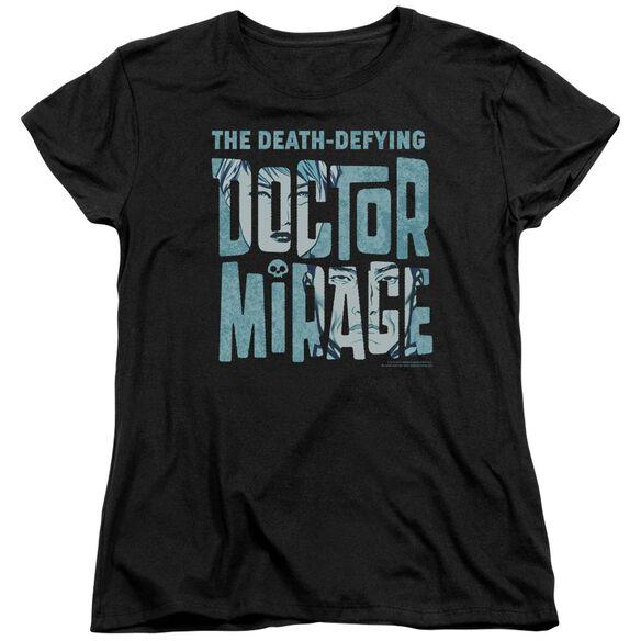 Doctor Mirage Character Logo Short Sleeve Womens Tee T-Shirt