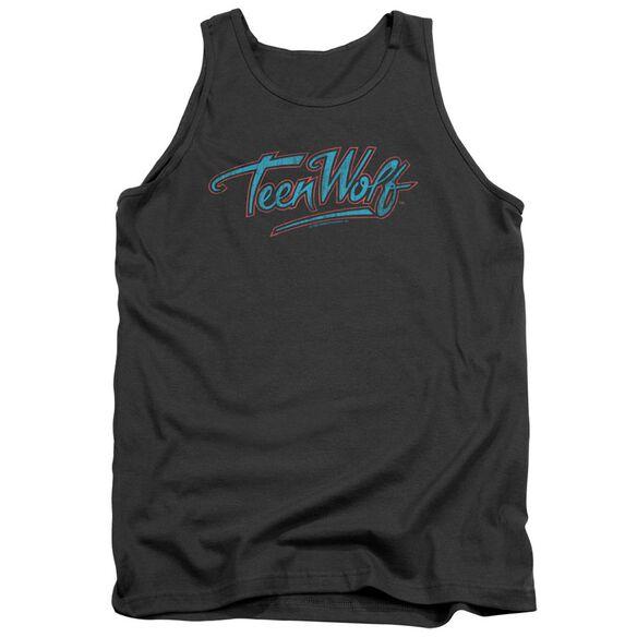 Teen Wolf Neon Logo Adult Tank