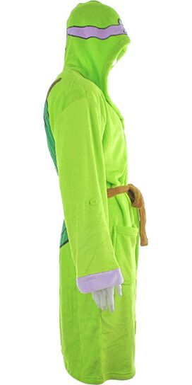 Ninja Turtles Donatello Hooded Fleece Robe