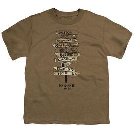 Mash Signs Short Sleeve Youth Safari T-Shirt
