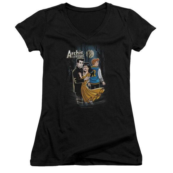Archie Comics Cover #146 Junior V Neck T-Shirt