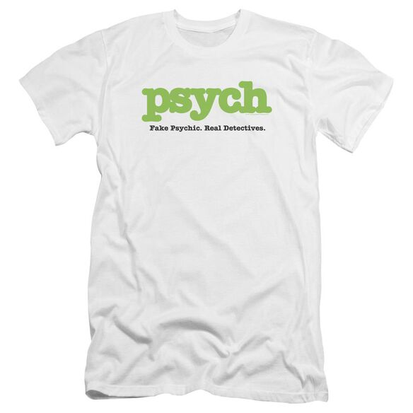 Psych Title Premuim Canvas Adult Slim Fit