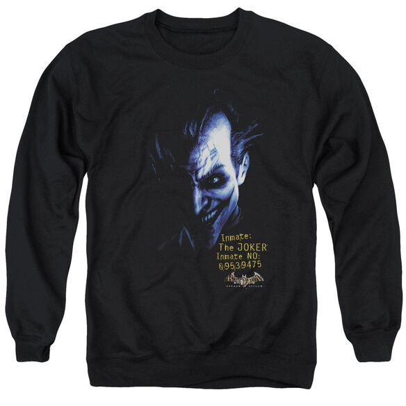 Batman Aa Arkham Joker Adult Crewneck Sweatshirt
