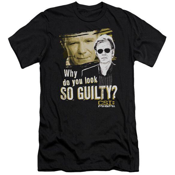 Csi Miami So Guilty Short Sleeve Adult T-Shirt