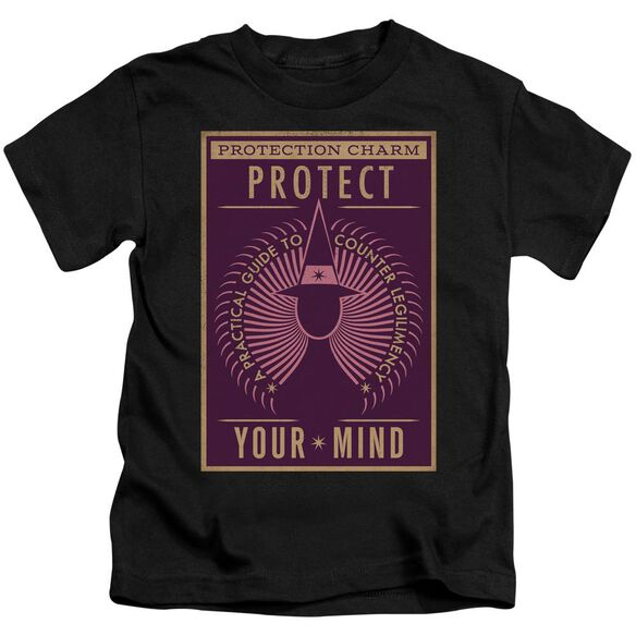 Fantastic Beasts Protect Your Mind Short Sleeve Juvenile T-Shirt
