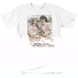 FAST TIMES RIDGEMONT HIGH FAST CARROTS - S/S ADULT 18/1 - WHITE - 4X - WHITE T-Shirt