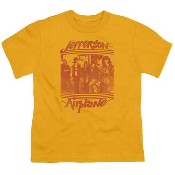 Jefferson Airplane Group Photo Short Sleeve Youth T-Shirt