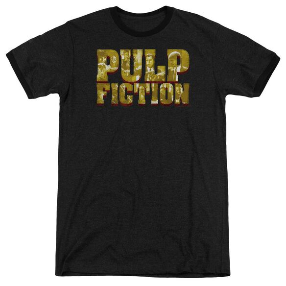 Pulp Fiction Pulp Logo Adult Ringer