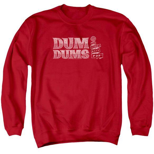 Dum Dums World'S Best Adult Crewneck Sweatshirt
