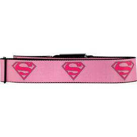 Supergirl Logo Seatbelt Mesh Belt