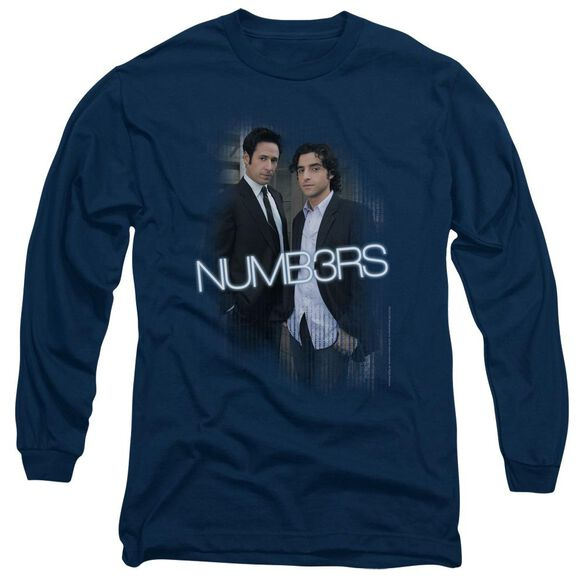 Numb3 Rs Don & Charlie Long Sleeve Adult T-Shirt