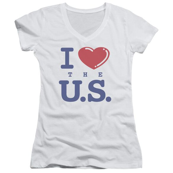 I Love The Us - Junior V-neck
