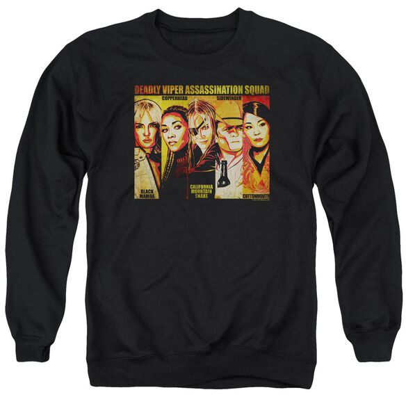 Kill Bill Deadly Viper Assassination Squad Adult Crewneck Sweatshirt