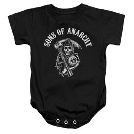 Sons Of Anarchy Soa Reaper Infant Snapsuit Black