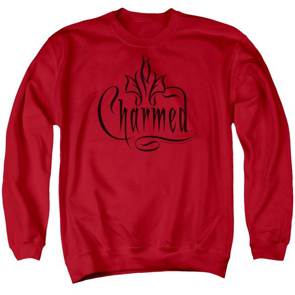 Charmed Charmed Logo Adult Crewneck Sweatshirt